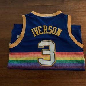 Vintage Nuggets (Iverson) Jersey